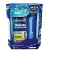 Aparelho de Barbear Gillette Prestobarba 3 Cool com 4 Unidades Grátis Garrafa