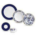 Aparelho de Jantar 30 Peças Classic Blue Premium