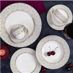 Aparelho de Jantar 42 Peças de Porcelana Precious Lyor