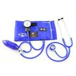 Aparelho de Pressao com Estetoscopio Azul Royal Bic