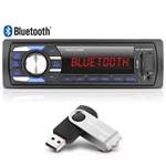 Aparelho de Som Automotivo Bluetooth Mp3 Multilaser Radio Carro USB Sd Fm