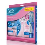 Aparelho para Depilar Venus Divine Sensitive + Carga Venus Divine Sensitive com 2 Unidades Grátis Escova de Dente Oral-B