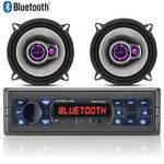 Aparelho Som Automotivo Bluetooth Multilaser Mp3 + 02 Falante Pioneer 5 Triaxial