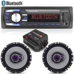 Aparelho Som Bluetooth Mp3 Multilaser + Falante 6 Pioneer + Módulo Stetsom