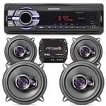 Aparelho Som MP3 Positron + 04 Falante 5 Pioneer Renault + Modulo Stetsom
