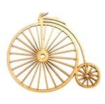 Aplique Bicicleta de Circo Grande - MDF a Laser