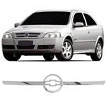 Aplique Cromado Grade Astra 2003 a 2011 Hatch Sedan