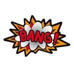 Aplique Decoupage 7x7cm Bang! LMAM-021 - Litocart