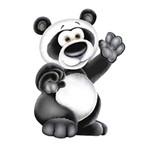 Aplique Decoupage 7x7cm Urso Coala LMAM-003 - Litocart