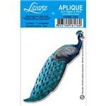 Aplique Decoupage em Papel e Mdf Pavão Apm8-292 - Litoarte