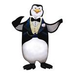 Aplique Decoupage Litoarte APM8-535 em Papel e MDF 8cm Pinguim Abraço