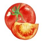 Aplique Decoupage Litoarte APM8-754 em Papel e MDF 8cm Tomates