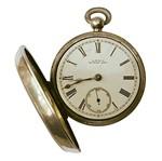 Aplique Decoupage Litoarte APM8-958 em Papel e MDF 8cm Relógio Bolso Aberto Vintage