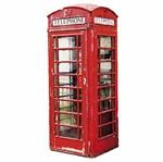Aplique Decoupage Litocart LMAPC-428 em Papel e MDF 10cm Telefone Londres