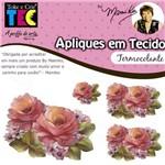 Aplique em Tecido By Mamiko - Rosas
