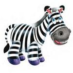 Aplique Madeira e Papel Animais Zebra LMAPC-104 - Litocart