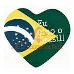 Aplique Madeira e Papel Futebol Brasil LMAPC-94 Litocart