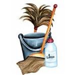 Aplique Madeira e Papel Limpeza Lmapc-189 - Litocart