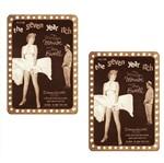 Aplique Mdf Decoupage com 2 Unidades Marilyn Monroe Lmap-064 - Litocart