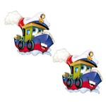 Aplique Mdf Decoupage com 2 Unidades Navio Feliz Lmap-059 - Litocart