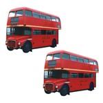 Aplique Mdf Decoupage com 2 Unidades Onibus Londres Lmap-067 - Litocart