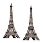 Aplique Mdf Decoupage com 2 Unidades Torre Paris Lmap-068 - Litocart