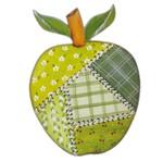 Aplique Mdf Decoupage Fruta Maça Patchwork Lmapc-326 - Litocart