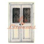 Aplique Mdf Decoupage Porta Branca Antiga Lmapc-320 - Litocart