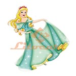 Aplique Mdf Decoupage Princesa Cinderela Lmapc-339 - Litocart
