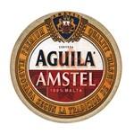 Aplique Mdf Decoupage Rótulo de Cerveja Aguila Amstel Lmapc-373 - Litocart