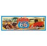 Aplique Mdf Decoupage Route 66 Carros Lmapc-363 - Litocart