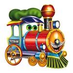 Aplique Mdf Decoupage Trem Alegre Lmapc-353 - Litocart