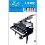 Aplique Mdf e Papel Litoarte 8 Cm - Modelo Apm8- 167 Piano