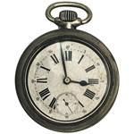 Aplique Mdf e Papel Litoarte 8 Cm - Modelo Apm8-959 Relógio de Bolso Vintage