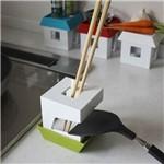 Apoio para Utensílios de Cozinha A230 Verde Basic Kitchen