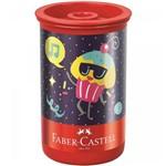 Apontador com Depósito Candy Party 123cpzf-faber Castell
