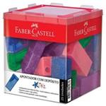 Apontador com Depósito Retangular Glitz com 25 Unidades – Faber Castell