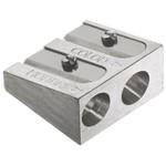 Apontador Duplo Metálico Faber Castell - Ref 185710