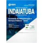 Apostila Concurso Indaiatuba Sp 2018 - Assistente Administração Geral