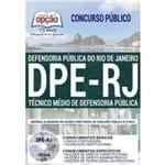 Apostila Dpe-rj 2019 - Técnico Médio de Defensoria Pública - Editora Opção