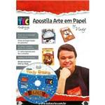 Apostila + DVD Arte em Papel com Prof. Vlady