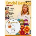 Apostila + DVD Crochê Barroco Círculo Simone Eleotério Nº 01