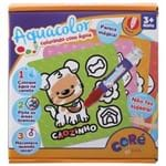Aquacolor Kit de Pintar C/8 Pçs Multicor