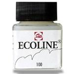 Aquarela Ecoline 30ml Branco -100 Talens