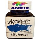 Aquarela Liquida Corfix Aqualine 030 Ml Azul Royal 20030.24