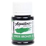 Aquarela Liquida Corfix Aqualine 037 Ml Verde Bronze 200376-31