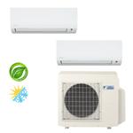 Ar Condicionado Daikin Multi Split Inverter 18.000 BTU/h (2x 09.000) - Quente/Frio 220V
