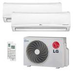 Ar Condicionado Multi Split Inverter Lg 16.000 Btu/h (2x Evap Hw 9.000) – Quente e Frio – 220v
