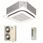 Ar Condicionado Split Cassete Inverter Daikin 42.000 Btu/h Quente Frio SCQ42AVL