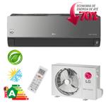 Ar Condicionado Split Hi-Wall LG DUAL Inverter Artcool Econômico 12.000 Btu/h Quente/ Frio 220V